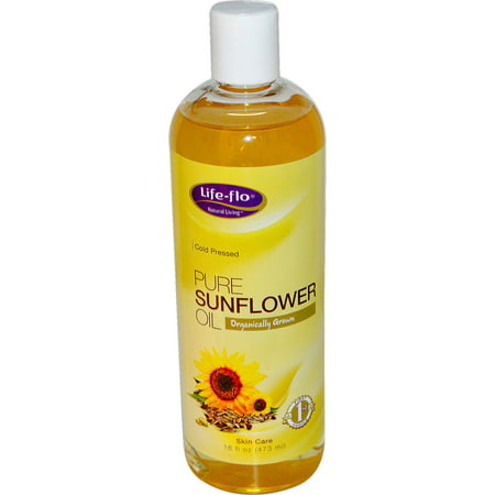 Life Flo Pure Sunflower Organic, Oil 16 oz - image 1 of 1