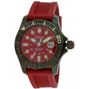 249056 Swiss Army Victorinox Dive Master Ladies Watch - Red Dial