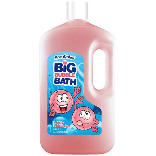 Equate Kids Bubble Gum Scent Bubble Bath, 64 fl oz