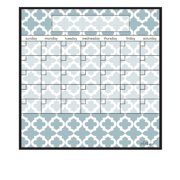 AlaBoard Lattice Magnetic Dry Erase Monthly Calendar