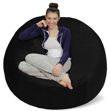 Outstanding Sofa Sack Memory Foam Bean Bag Chair 5 Ft Lamtechconsult Wood Chair Design Ideas Lamtechconsultcom