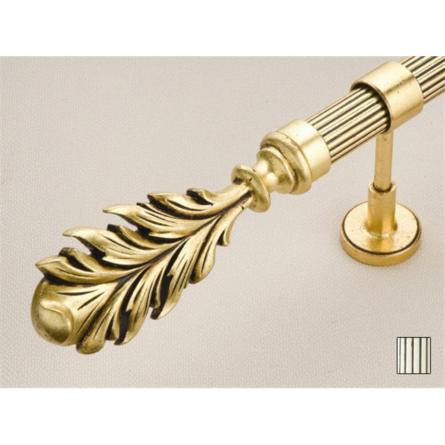WinarT USA 8. 1075. 45. 10. 200 Palas 1075 Curtain Rod Set - 1. 75 inch - Antique Pearl White - 78 inch