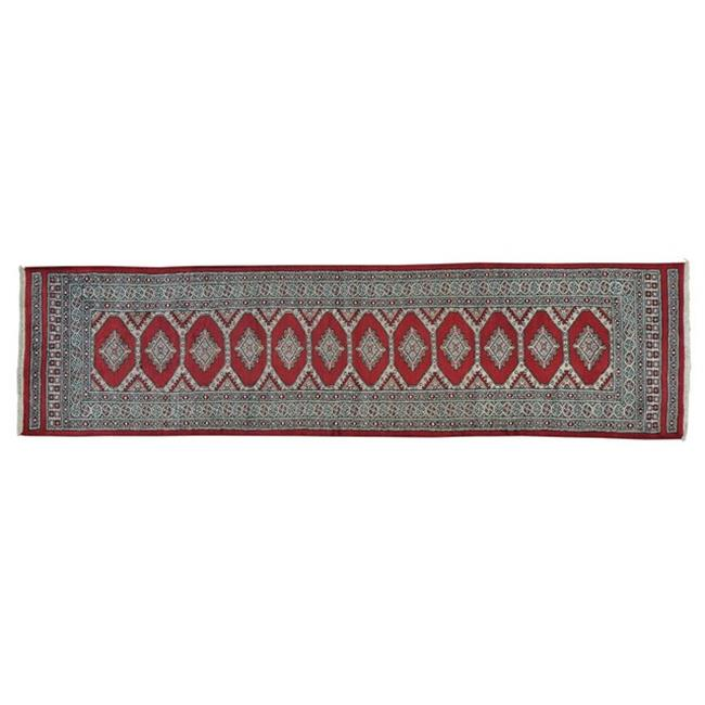 Rugs sh24461 3 x 10 ft. Runner Red Bokara Jaldar Design H...