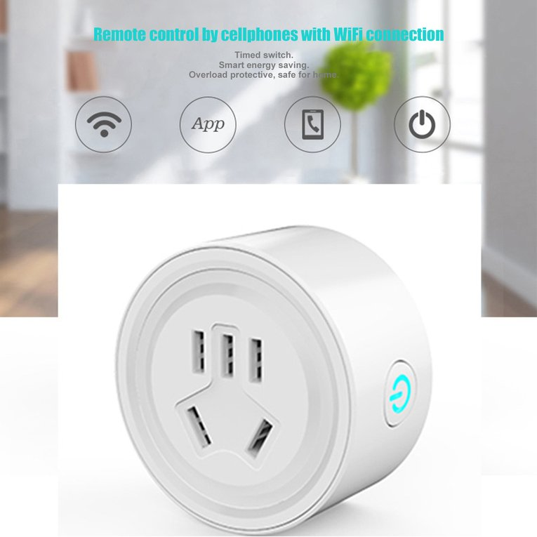 US Plug Wifi Remote Control Appliance Power Socket Smart Phone Timer Switch