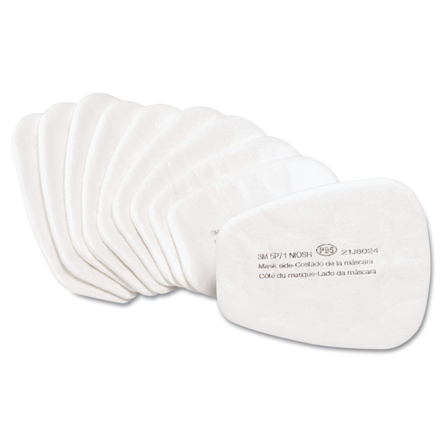 3M 07194 Particulate Respirator Filter 5P71, P95, 10 Filters by 3M/COMMERCIAL TAPE DIV.