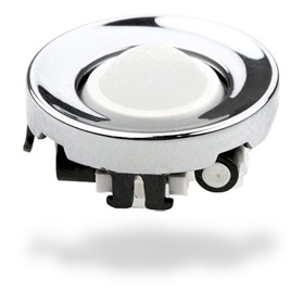Blackberry Trackball Replacement for Blackberry Curve 8300 & Pearl 8100 Series - White