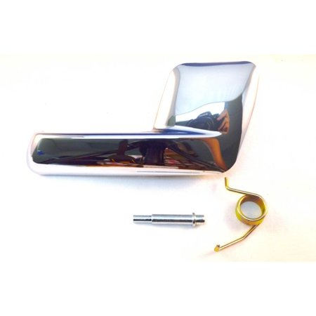 PT Auto Warehouse FO-2725M-RH - Inner Interior Inside Door Handle, Chrome - Passenger Side