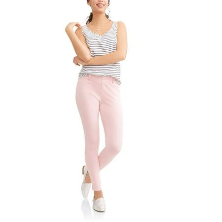 - Women's Full Length Soft Knit Color Jegging