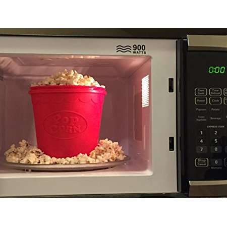 Bpa Free Silicone Popcorn Maker For Microwave Healthy And Simple Popper 1 5