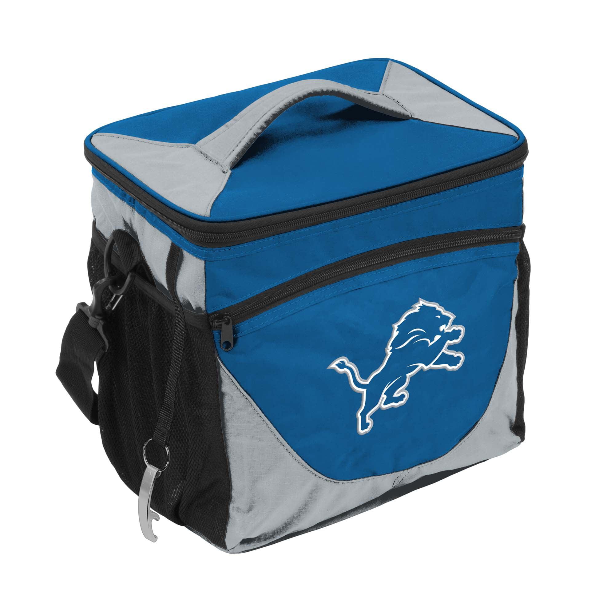 Detroit Lions 2017 Logo 24 Can Cooler