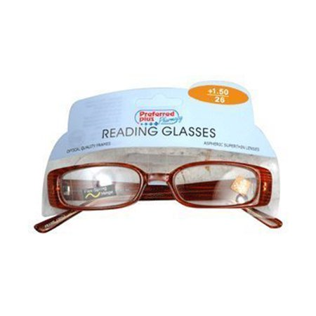 Reading Glasses 1.50 Power By Kpp Frame Size: R269, 1 Ea ...
