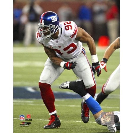 Michael Strahan   2007 Action Photo Print