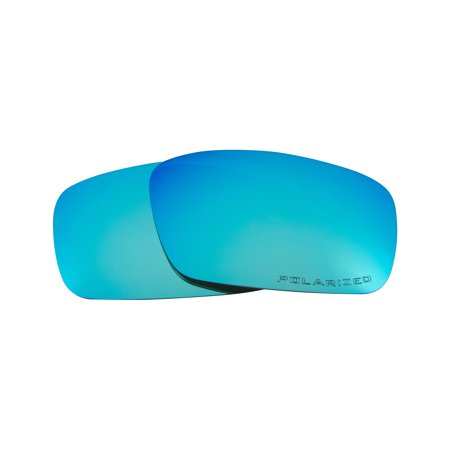 Replacement Lenses Compatible with OAKLEY Crankshaft Polarized Ice Blue (Crankshaft Polarized)