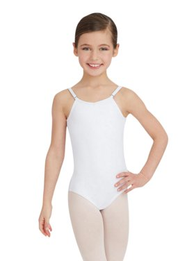 Camisole Leotard w/ Adjustable Straps - Girls