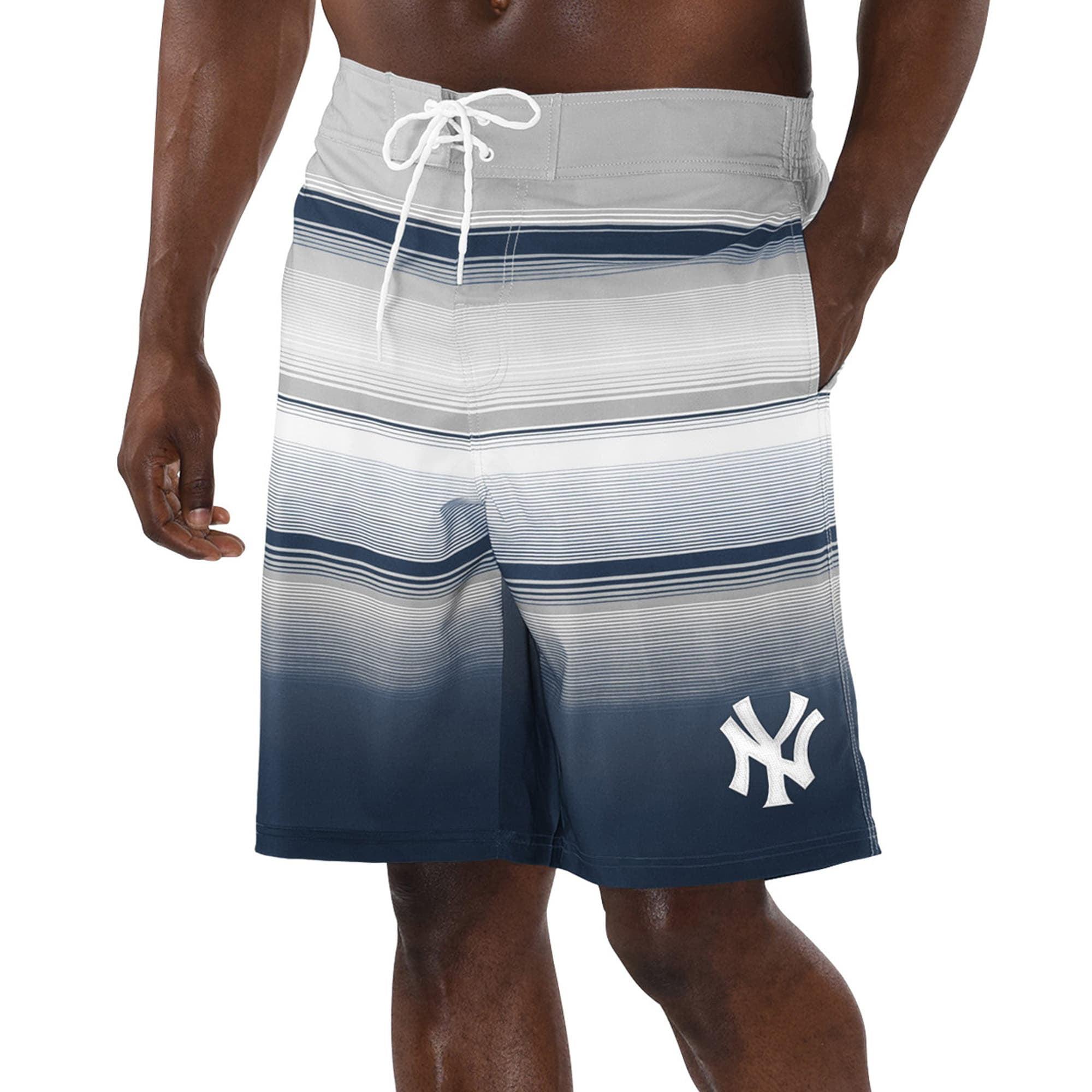 New York Yankees Boys Swimsuit Swim Trunks Shorts Baseball MLB Sz Small 5 5T NEW
