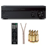 Sony STRDH190 2-ch Stereo Receiver with Phono Inputs and Bluetooth bundle