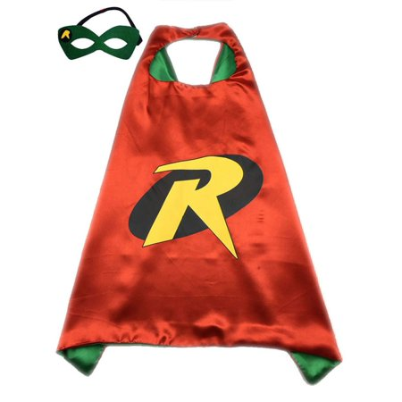 Adult Size Superhero or Princess CAPE & MASK SET Halloween Costume Cloak & - Princess Mask