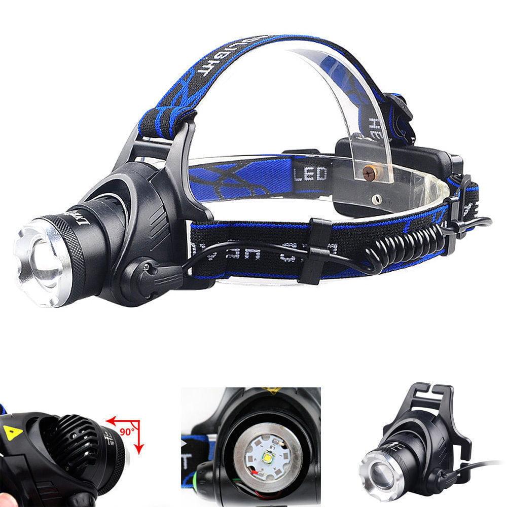 6000Lm XML XM-L T6 LED 3-Modes Reable 18650 Headlamp Headlight Head Torch