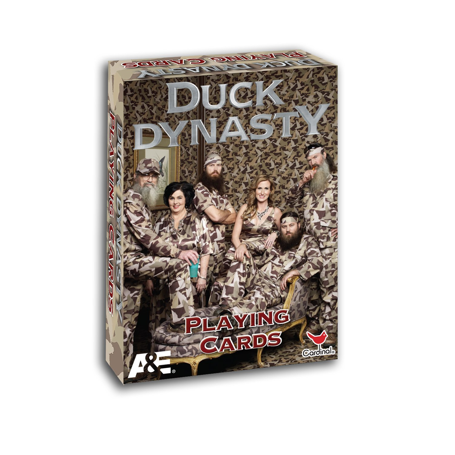 Duck Dynasty Camo Redneck Family Portrait Standard Poker Playing Cards Deck NEW