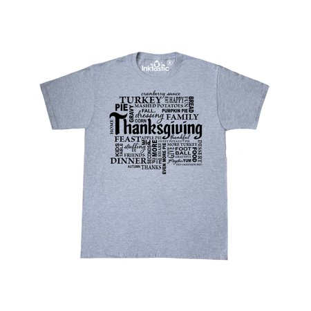 Hebrew Word T-shirt (Thanksgiving Word Salad)
