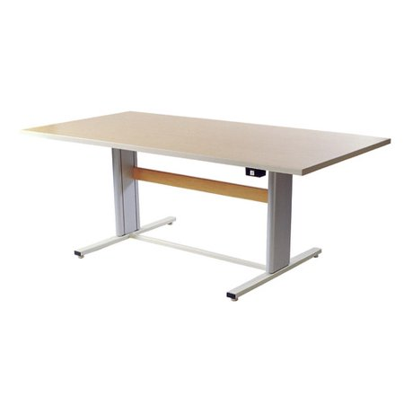 Populas Furniture W Infinity Height Adjustable Training Table - Adjustable training table