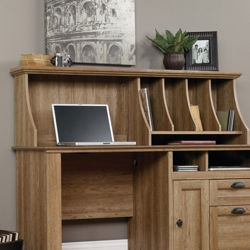 Sauder Barrister Lane Hutch, Scribed Oak