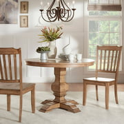 """Weston Home 45"""" Round Dining Table, Multiple Finishes"""