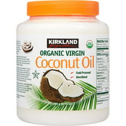 Organic Virgin Coconut Oil Unrefined Cold Pressed Chemical Free 84 oz