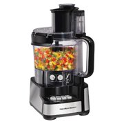 Hamilton Beach Stack and Snap 12 Cup Food Processor Black 70725