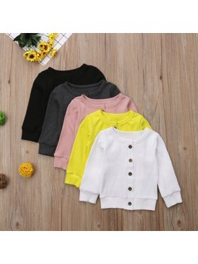 SUNSIOM Autumn Winter Newborn Kid Baby Girl Knitted Sweater Cardigan Coat Top Blouse
