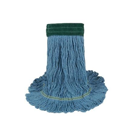 Mop Head - Blue Super Loop  - Case of 12 New Mop Heads - (Xl Super Loop)