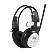 FAGINEY headphone, headphone,Over Ear Foldable Wireless / Wired Headphone Noise-Cancelling HiFi Headset with LCD