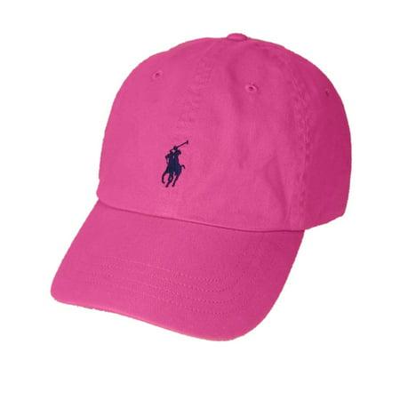 Polo Ralph Lauren Pony Logo Hat Cap Pink New - Walmart.com da2cb9ee413