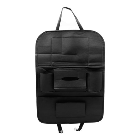 Car Black Seat Back Pocket Organizer Multi-function Holder Storage Hanging Bag - image 4 of 4