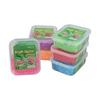 Fun Express - Foam Dough Putty Monster - Toys - Active Play - Dough & Putty & Slime Toys - 12 Pieces