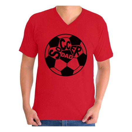 Awkward Styles Men's Soccer Dad Graphic V-neck T-shirt Tops Father's Day Gift Idea Soccer Day Sports Dad](Soccer Banquet Ideas)