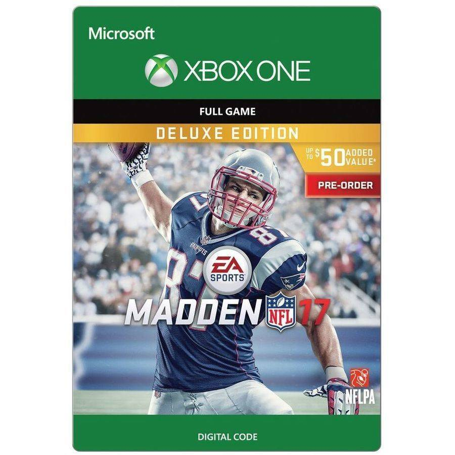 Xbox One Madden Nfl 17 Pre Order Deluxe