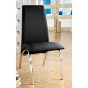 A Line Furniture 'Viscaria' Black Contemporary Dining Chairs (Set of 2)