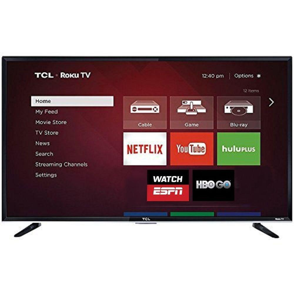 TCL 48 in. LED 1,080p 120Hz Roku Hdtv