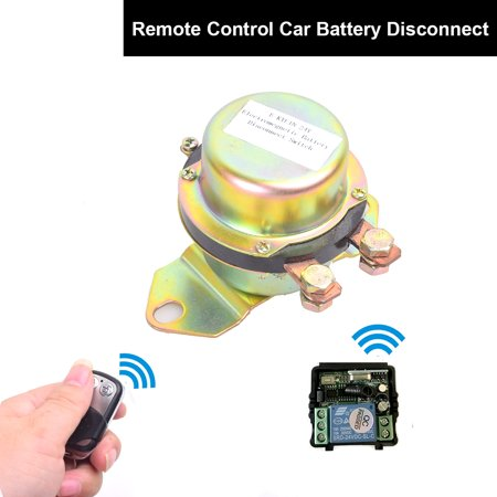 Car Auto Remote Control Battery Switch Disconnect Anti-theft, E-KYLIN DC  24V Automobile Electromagnetic Solenoid Valve Power Switch + Remote Control