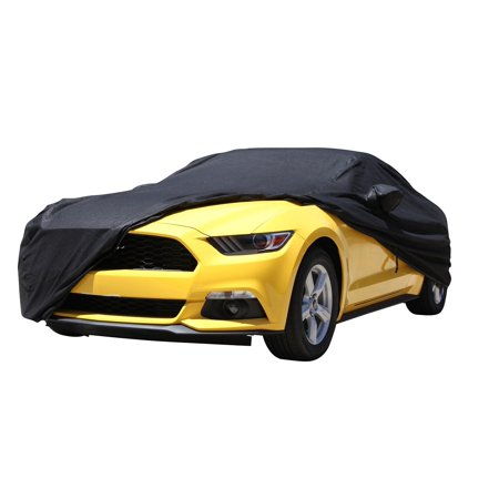 XtremeCoverPro Car Covers ready fit for SUBARU OUTBACK 2010~2017 UV Resistant, Dust Series Breathable Fabric Indoor/Outdoor Protection (Black)