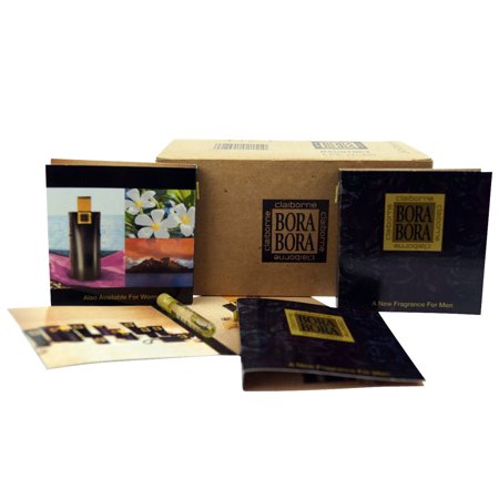 Liz Claiborne Bora Bora Men Box Of 24 Carded Vials Each  05 Oz