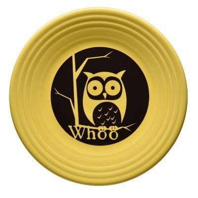 9 Halloween Whoo Owl Luncheon Plate by Unknown, Fiesta adds a spooktacular touch to Halloween with the Whoo Owl Luncheon Plate By - Decoracion Globos Fiesta Halloween