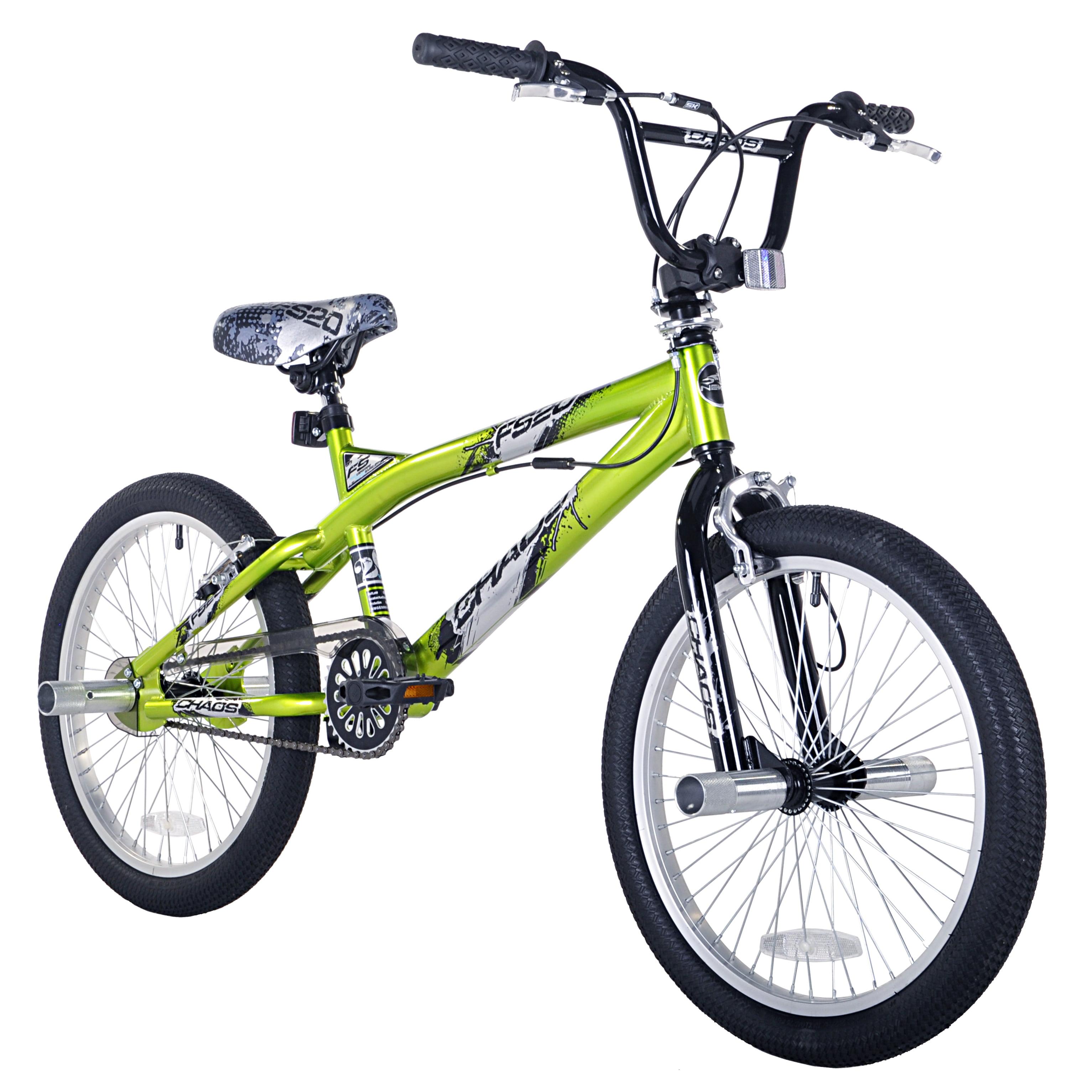 20 Kent Chaos Boys Freestyle Bike Green