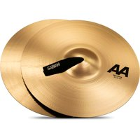 Sabian AA Marching Band Cymbals 16 in. Brilliant Finish