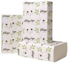 Renown Image Multifold Paper Towels, Bright White, 9.13X9.5 In., 12 250-Count Packs Per Case
