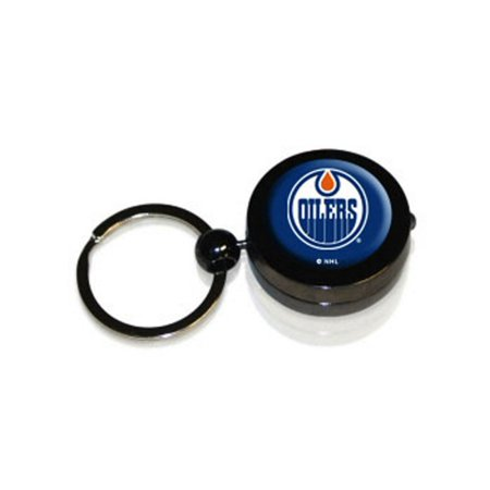 Edmonton Oilers Hockey Puck Flashlight Keychain Hockey Puck Keychain