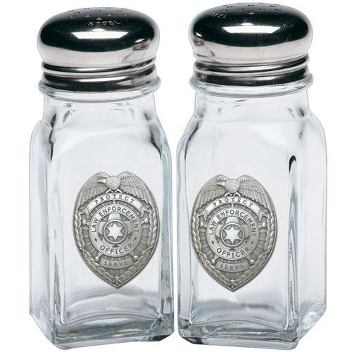 First Responder Police Law Enforcement Salt & Pepper Shaker