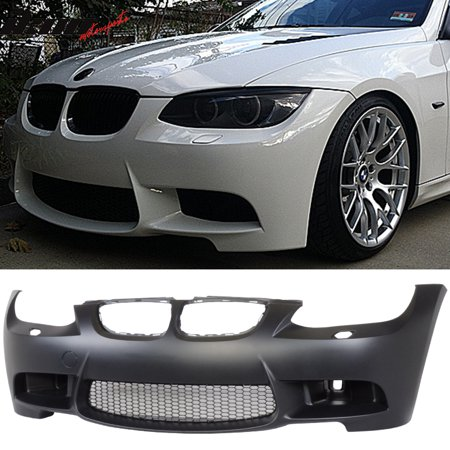 Fits 07-10 BMW E92 E93 3 Series M3 Style Front Bumper Conversion With Air Duct
