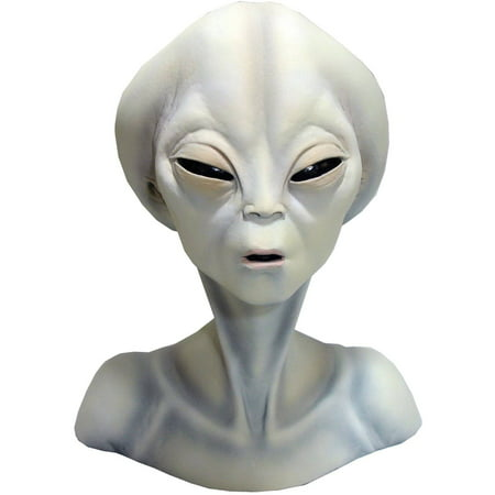 Roswell Alien Bust Halloween Decoration